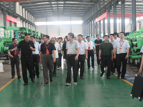 Zhang Weining led the National People's Congress to inspect Gengli