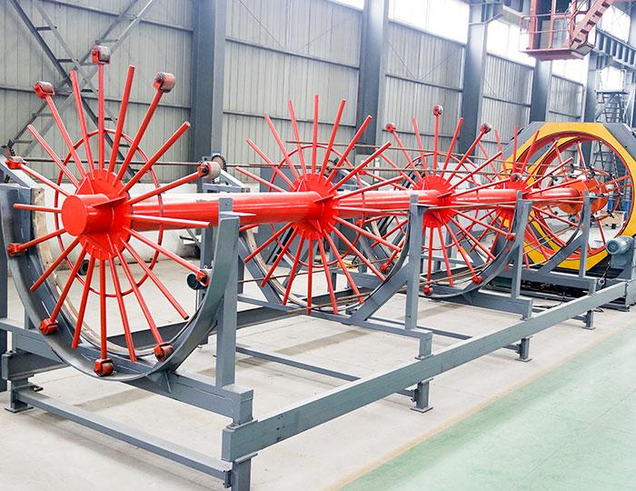 CNC rebar cage welding machine
